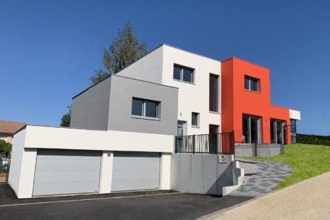 Maison passive labellisée à Besançon