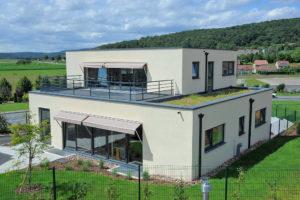 Maison passive témoin à Héricourt en Haute-Saône