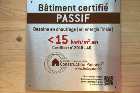 La certification d'une maison passive