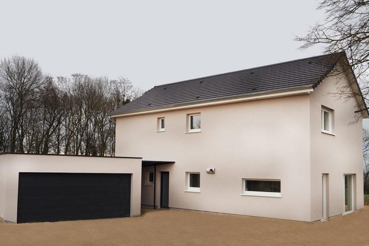 Une nouvelle maison passive signée Moyse dans le Jura