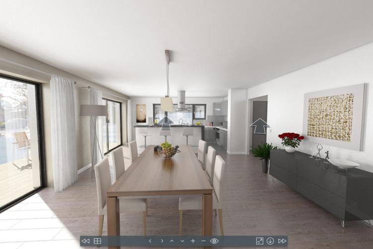 Visitez une maison passive en réalité virtuelle