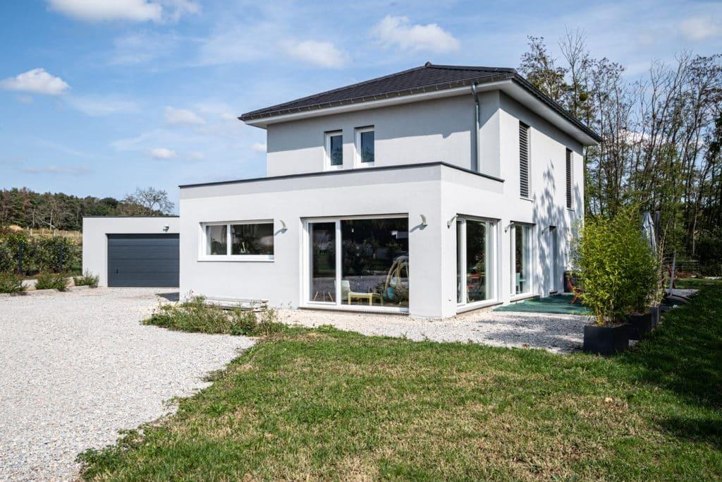 Construction maison passive Besançon Doubs