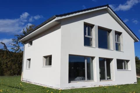 Maison passive aux Rousses dans le Haut-Jura