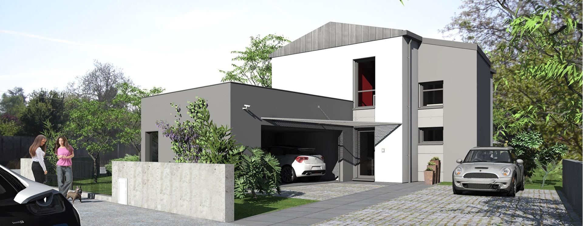 exemple architecture maison passive