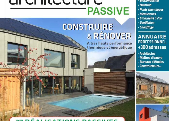 La maison passive de Besançon à l'honneur dans le magazine Habitat Naturel